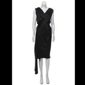 Marc Jacobs Sleeveless Silk Open Back Long Dress